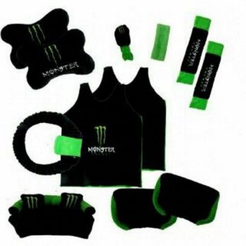 Bantal Mobil Exclusive 8 in 1 Monster Energy