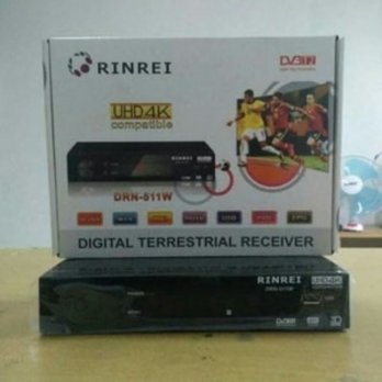Terbaru SET TOP BOX DVB-T2 RINREI penerima siaran tv digital full hd 1080p Zn2930