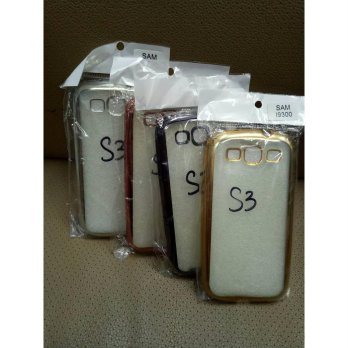 SOFT CASE SAMSUNG S3/SILICON CHROME