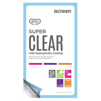indoScreen iScreen Anti Gores Andromax G2 Qwerty - Clear
