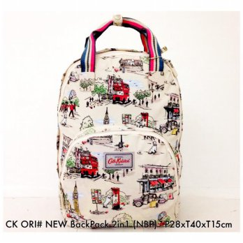 Tas Wanita Fashion ORIGINAL Backpack 2 in 1 NBP - 18