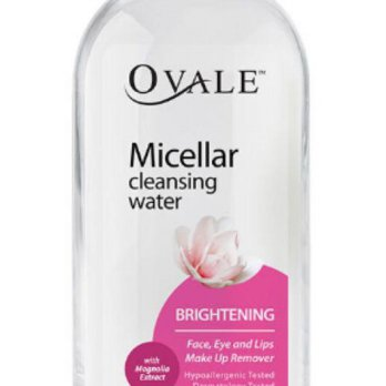 Micellar Cleansing Water Ovale Brigthening 200ml
