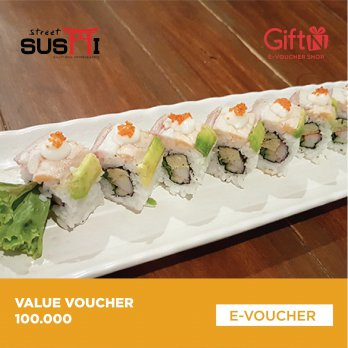 Street Sushi Value Voucher 100K