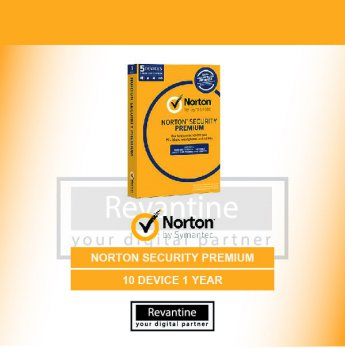 Antivirus Norton Security Premium 10 PC 1 Tahun