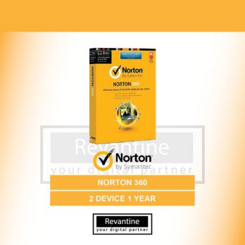 Antivirus Norton 360 2 PC 1 Tahun
