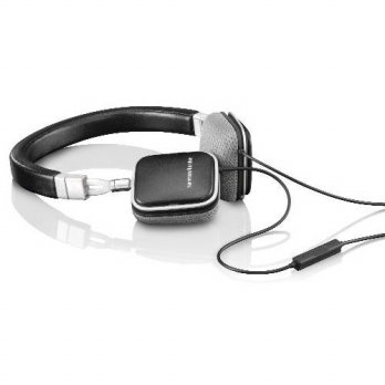 [holiczone] Harman Kardon SOHOi BLK Premium Lie Flat-On Ear Mini Headphones with iOS Remot/223257