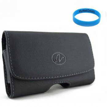 [holiczone] MyNetDeals Horizontal Leather Case Pouch Holster for Blackberry Z10/Nokia Lumi/210271