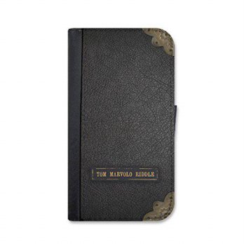 [holiczone] Harry Potter inspired Tom Riddle iPhone 6 Plus / 6s Plus leather wallet case b/1673111