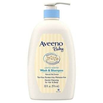 Aveeno Baby Wash and Shampoo 976ml