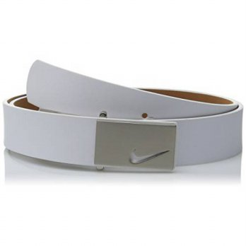 [Macyskorea] Nike Womens Sleek Modern Belt, White, Medium / 11640800