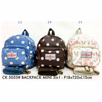 Tas Ransel Fashion Impor Backpack Mini 3 in 1 5055 - 13-14-15