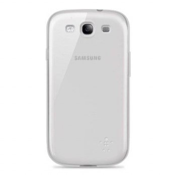 [holiczone] Belkin Grip Sheer Case / Cover for Samsung Galaxy S3 / S III (Frosted White)/275595