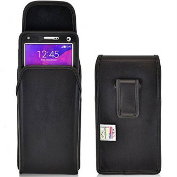 [holiczone] TurtleBack Note 4 Holster, Turtleback Vertical Galaxy Note 4 Belt Case, fits O/283349