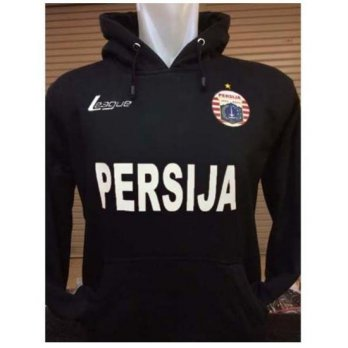 Sweater Hoodie Persija Hitam G-115 Home Jersey Persatuan The Jak