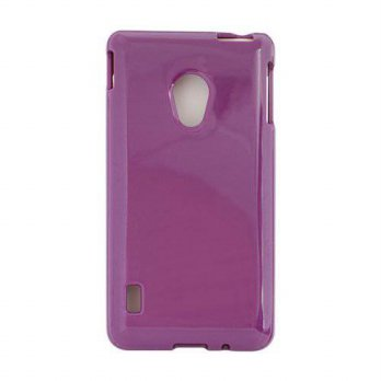 [holiczone] Qmadix Flex-Gel Case for LG VS870 - 1 Pack - Retail Packaging - Purple/149619