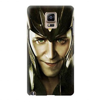 [holiczone] Innove S1831 Loki Face Asgard Case Cover For Samsung Galaxy Note 4/249059