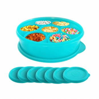 Calista Oedo Container Bulat - Circle Container - Set 8 buah