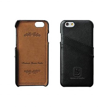 [holiczone] iPhone 6/6s Coated Leather Case with Slots for ID cards - Perfect Slim Fit Lux/135054