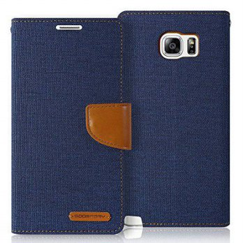 [holiczone] Galaxy NOTE 5 Case, [Protection] GOOSPERY Canvas Diary [Denim Material] Wallet/1669551