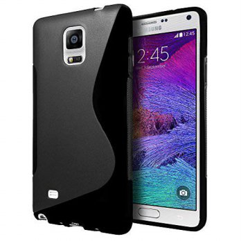 [holiczone] Samsung Galaxy Alpha Case, Cimo [Wave] Premium Slim TPU Flexible Soft Case For/284984