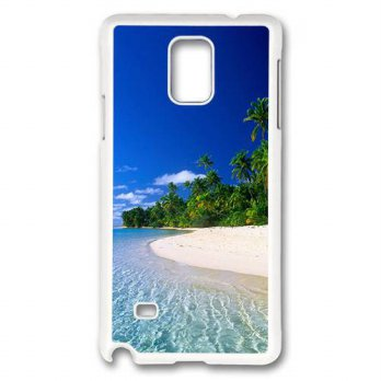 [holiczone] ACESR Samsung Galaxy Note 4 Case, A Random Beach In Thailand Case Cover for Sa/310811
