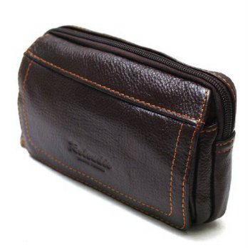 [holiczone] Rolendio New Mens Leather Pocket Waist Packs Bag Wallet Purse Pouch Handbag fo/226940