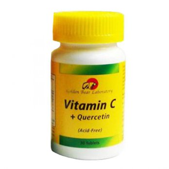 (POP UP AIA) Golden Bear Vitamin C Quercetin - Acid Free - 30 Tablets (ED: Dec'19)