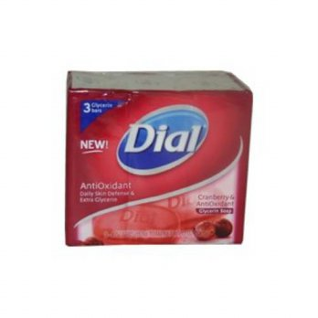 [holiczone] Dial Cranberry and AntiOxidant Glycerin Soap - 3bars/pack/305547