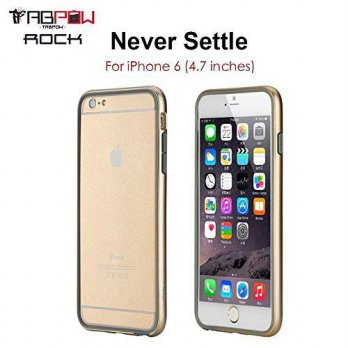 [holiczone] iPhone 6 Bumper, iPhone 6 Case, TabPow Champagne Smooth Bumper Series - Ultra-/268080