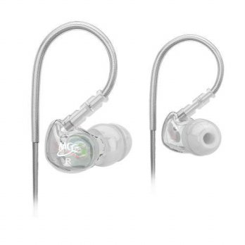 [holiczone] MEE audio Sport-Fi M6 Noise Isolating In-Ear Headphones with Memory Wire (Clea/316076