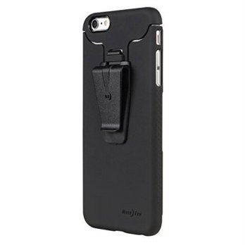 [holiczone] Nite Ize Connect Case for iPhone 6 Plus - Retail Packaging - Black/136082