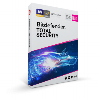 Bitdefender Total Security 2020 Multi Device 1 Year 5pc