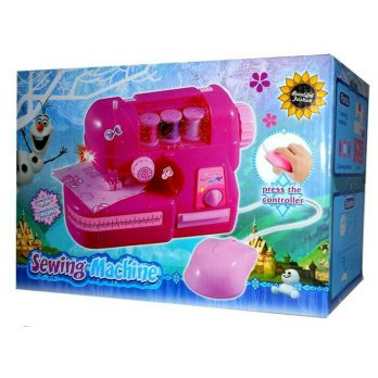 SEWING MACHINE FROZEN 8802B - MAINAN ANAK MESIN JAHIT FROZEN