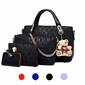 [FOR SALE] 4 1N 1 SET TAS DOLLY PLUS TEDDY BEAR - TAS IMPORT/ TAS WANITA