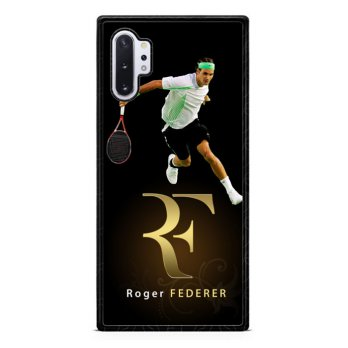 Roger Federer Gold Logo  X3465 Samsung Galaxy Note 10 Plus Case