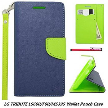 [holiczone] ]LG TRIBUTE LS660/F60/MS395 Wallet Pouch Case, The3Knights[TM] Two Tone PU Lea/320023
