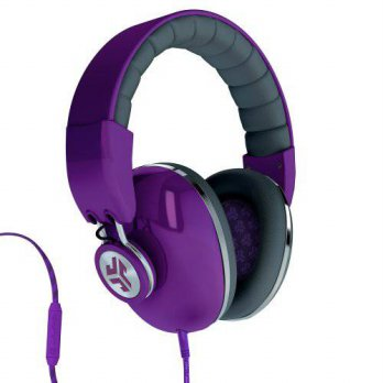 [holiczone] JLAB JLab Bombora Over the Ear Headphones with Universal Mic - Prism Purple / /321328
