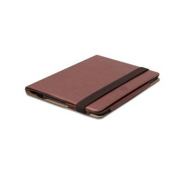 [holiczone] Tunewear Quality Brown Notebook Folio Flip Case Stand for iPad 5 Tablet (iPad /328446