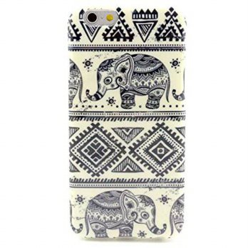 [holiczone] Supstar iPhone 6 Case, MOKOU A Style Hybrid Fancy Colorful Pattern Hard Soft S/335750