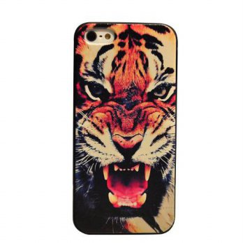 [holiczone] Changeshopping Generic Tiger Design Hard Pc Case for Iphone 6 5.5/333878