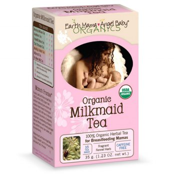 Earth Mama Organic Milkmaid Herbal Tea 16 Teabags Meningkatkan ASI