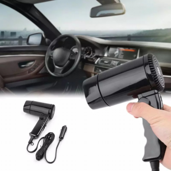 Hair Dryer Mobil Portable Lipat 12V - Car Hair Dryer Travel black