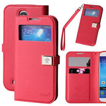 [holiczone] AILUN Galaxy S4 Case,Case for Samsung Galaxy i9500,By Ailun, Wallet Case,with /337792