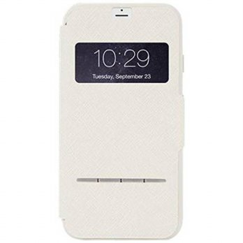 [holiczone] Moshi Sensecover Touch Sensitive Flip Case for iPhone 6 Plus - Sahara Beige/340883