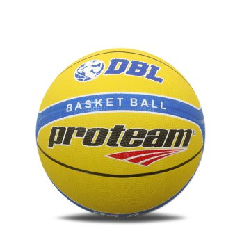 Proteam Basket Rubber SA-5 Yellow-Blue