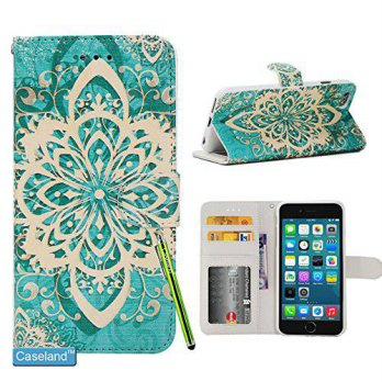 [holiczone] iPhone 6S Plus Case,iPhone 6 Plus Case,CASELAND [New Pattern] PU Leather Walle/92873