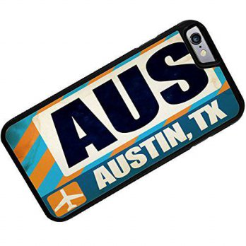 [holiczone] NEONBLOND Case for iPhone 6 Plus Airportcode AUS Austin, TX - Neonblond/96635