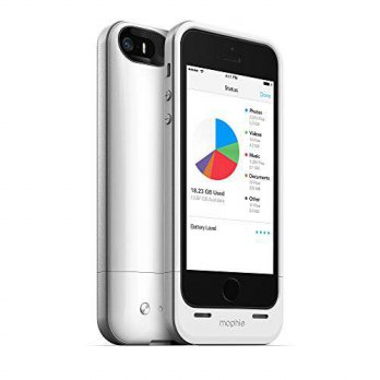 [holiczone] Mophie mophie spacepack with built-in 16GB storage for iPhone 5/5s/5se (1,700m/98589