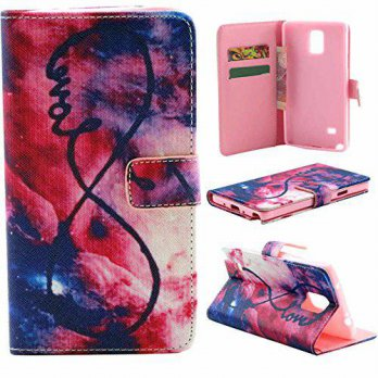 [holiczone] Vogue shop Note 4 Case,Vogue Shop Note 4 Wallet Case [Book Fold] Leather Galax/97719