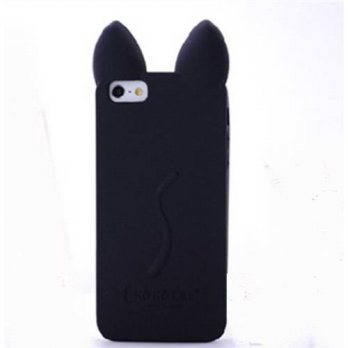 [holiczone] Thunderous 3d Cute Cat Koko Cat Cases for Iphone 6 4.7 Inch-Black/104764
